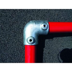 Q Clamp 125 - 90° elbow