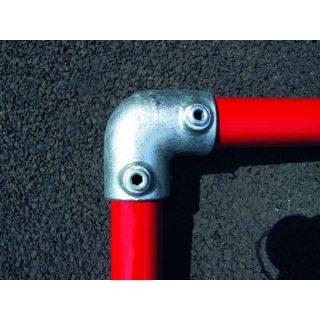 Q Clamp 125 - 90° elbow